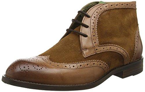 nobrand Herren Whiskey Chukka Boots Braun (Cuero)