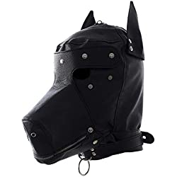 Máscara de perro especial Halloween.