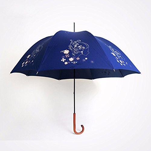 ssby-mangos-de-madera-vintage-paraguas-largo-lady-art-flower-paraguas-protector-solarazul