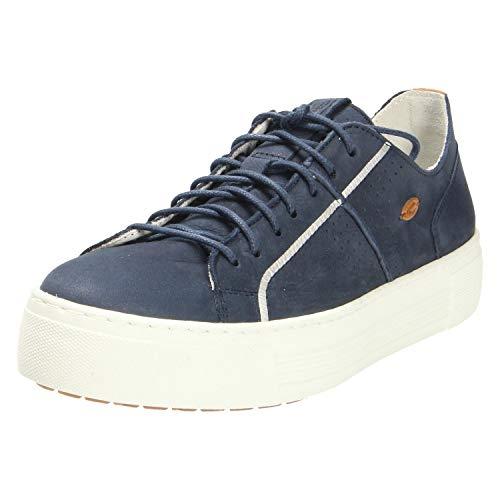 camel active Damen Innocence 70 Sneaker, Blau (Jeans 2), 38.5 EU
