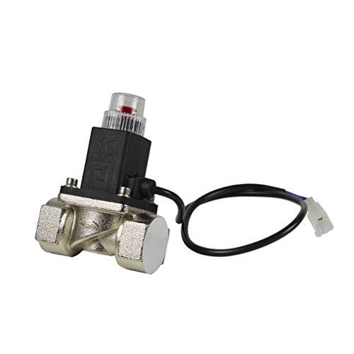 GAS Ventil PNI v-023/10,2cm für Gas-Rauchmelder oder Fire Alarm Systemen, 9-12V Impulse, manuelles Reset