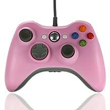 Ameego - Mando de Xbox 360 con cable USB, Gamepad, Joystick y Joypad, para Microsoft y ordenadores Windows
