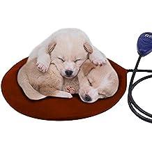 Almohadilla térmica para mascotas, almohadilla térmica eléctrica para perros y gatos, colchoneta de calentamiento