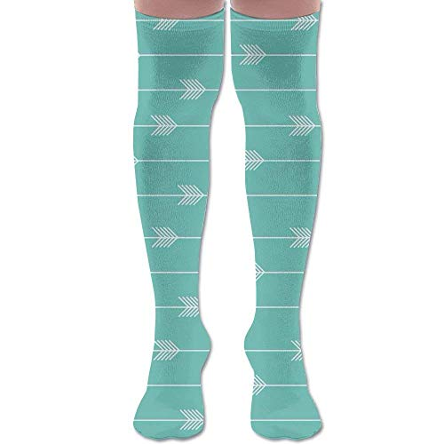 Green Arrow Kostüm Frauen - ouyjian Womens Green Arrow Socks 3D Printing Long Knee High Socks Stockings