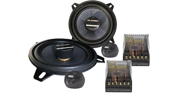 Gladen Rs 165 Dual 2 Way Speaker System 16 5 Cm Navigation Car Hifi