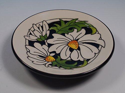 Moorcroft Phoebe Summer Daisies 780/4 Pin Tray Coaster 1st Quality Rrp £85