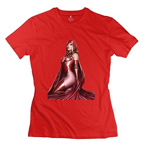 KST Women, Scarlet Hexe Avengers T-Shirt Short Sleeve