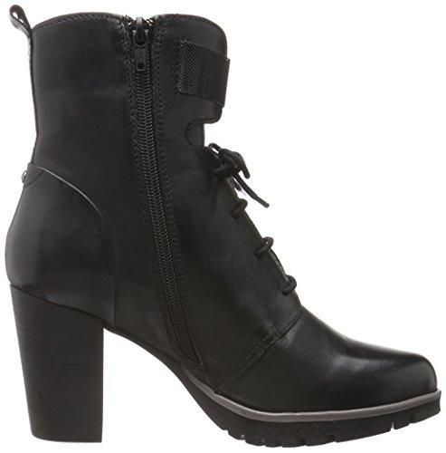 bugatti Damen V76381 Kurzschaft Stiefel Schwarz (schwarz 100)