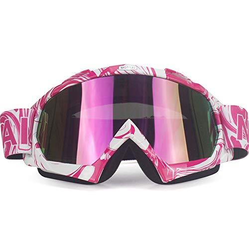 Brille Dirt Bike ATV Cross Riding Ski Fox Motocross Brille Motor für Motorrad UV Ski Snowboard Brille Klare Linse