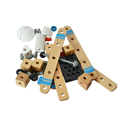 Xshuai Hohe qualität Holzspielzeug DIY Manuelle Montage 3D Puzzle Modell kinder Pädagogisches Flugzeug Gutes Weihnachtsgeschenk Für Kinder (Kostüm Jungen Piraten Diy)