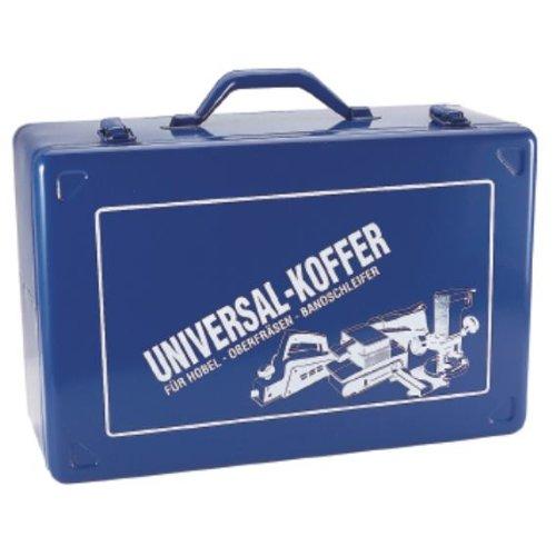Bandschleiferkoffer blau 430x280x185mm m.Schaumstoffeinlage Stahlblech
