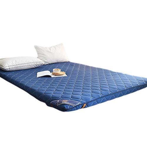 KELE Einfarbig Dick Bett matratzenauflage Schlafsaal Japanischen Boden futon-matratze Multi-Size Stereo-matratze Faltbare Tatami-matten-C 150x200x9cm