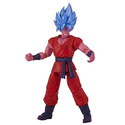 Dragon Ball-35991 Deluxe Figure Super Saiyan Blue Kaioken X10 Goku ,, Norme (35991)