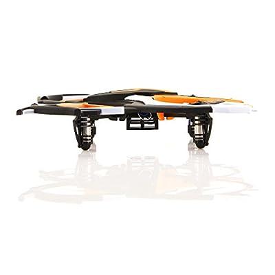 ACME - zoopa Q 165 riot Quadro | 2,4GHz Fernsteuerung | 360° Flipfunktion | 3 Geschwindigkeiten | inkl. 2 Stück zoopa Race Pylonen (ZQ0166)