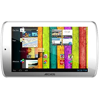 Archos 70 Titanium 17,8 cm (7 Zoll) Tablet-PC (IPS Display, Rockchip Dual Core, 1,6GHz, 1GB RAM, 8GB HDD, Android) weiß