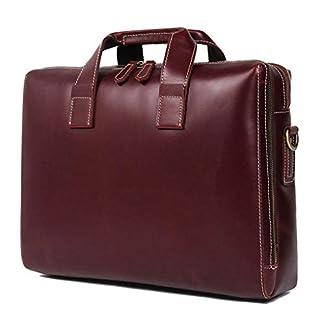 41t4E0F85jL. SS324  - Bolso de cuero para hombres, bolso de negocios, 16 pulgadas, maletín de negocios, bolso de gran capacidad