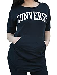 Converse Women's Sweatshirts Black 7577A05