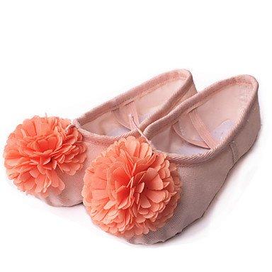 Ruhe @ Kids 'Dance Schuhe Segeltuch Ballerinas flach Ferse Praxis/Leistung Pink/Rot/anderen Nude