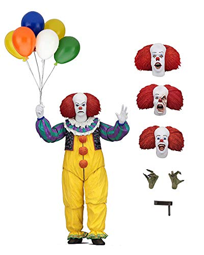 ISee Stephen King, IT-Actionfigur, Clown-Replikat-Modell, Statue, Geschenk für Fans, Souvenir,Pennywise