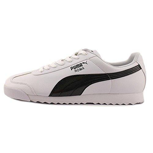 Puma Roma TL Iridescent Men US 13 White Running Shoe