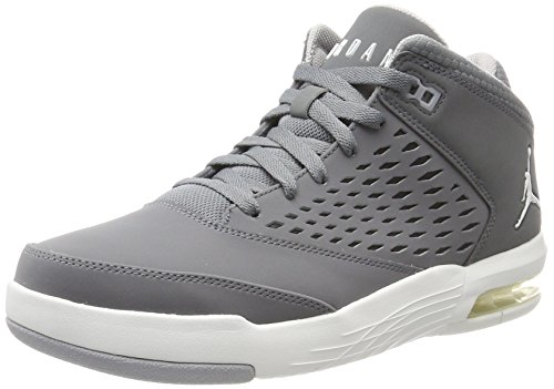 Nike Herren Jordan Flight Origin 4 Basketballschuhe, Grau (Cool Grey/Summit White/Wolf Grey), 44 EU (Nike Flight Herren)