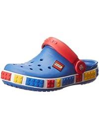 Crocs Lego - Zuecos con correa infantiles