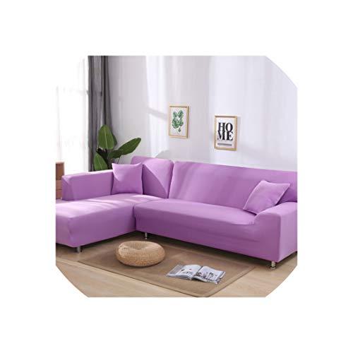 Baumwolle Königin Futon Cover (Sofa Slipcovers Universal-Elastic für Wohnzimmer Sofa Handtuch Slip-Resistant Stretch Sofa Slipcover, Colour15,3-Seater 195-230Cm)