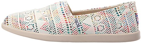 Bobs De Skechers Bobs mondiale Slip-on Flat Natural/Multi