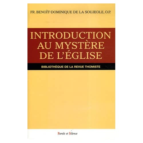 Introduction au mystère de l'Eglise
