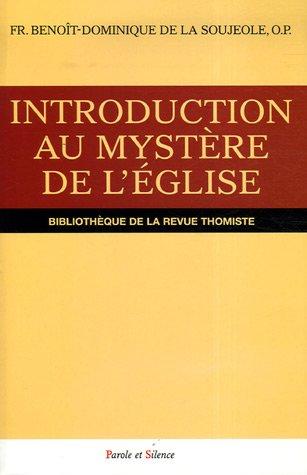 Introduction au mystre de l'Eglise