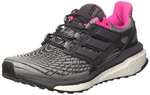 adidas Damen Energy Boost Laufschuhe, Grau (Grey Three/Utility Black/Grey Four), 36 2/3 EU