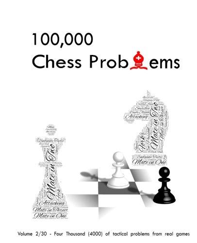 100,000 chess problems: book 2/30 - a series of 30-volume set: Volume 2 por Simo