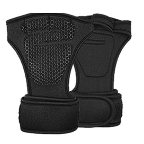 Swiftswan 1 paire de gants de remise en forme de musculation de gymnastique d'entraînement de gymnastique d'entraînement de gymnastique d'entraînement de poignet en néoprène pour les hommes