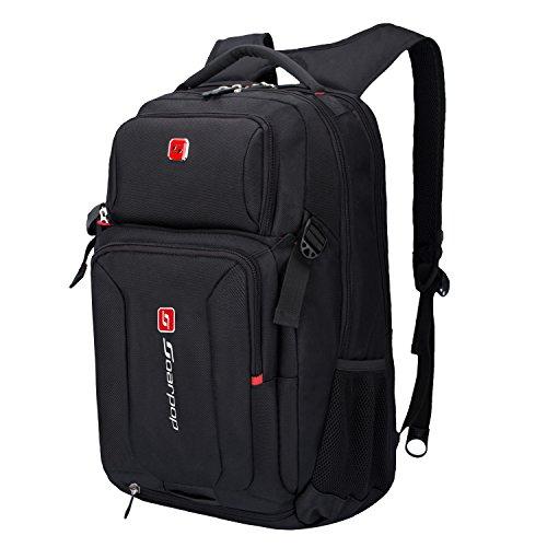 Preisvergleich Produktbild 15 inch Laptop-Rucksack, Wasserdichter Rucksack mit Großer Kapazität, Praktischer Multifunktionsrucksack für Business, Freizeit