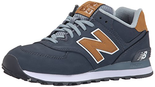 New Balance Ml574 D, Baskets mode homme Navy/Tan