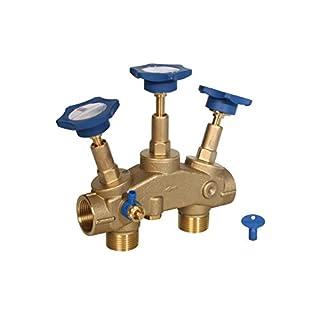 Wasserenthärter Montageblock 1