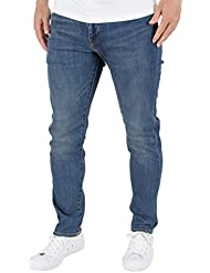 Levi's Hombre 512 Ludlow Slim Tapered Fit Jeans, Azul