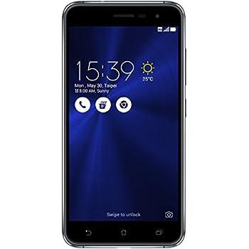 ASUS Zenfone 3 Smartphone Portable Débloqué 4G (Ecran: 5,2 Pouces - 64 Go - Double SIM - Android 6.0 Marshmallow) Noir