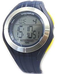 4bf91d8a0193 Silicona reloj de pulsera  Umbro azul gris amarillo (digital).