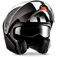 Moto Helmets F19 Racing Botes de casco de scooter Casco Cruiser Casco Modular de casco de Flip Up de casco Roller de casco – Casco integral de casco de moto ...