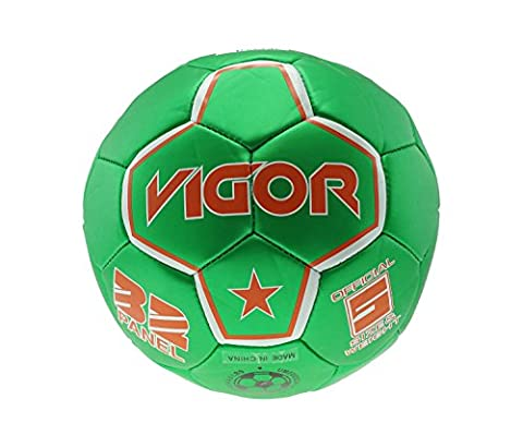 Mozlly Soccer Ball Green, White And Red High End Mexico High End Colors Design Official Size 5 Sports Equipment - Item #108002