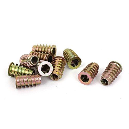 sourcingmapr-legno-m8-x-25-mm-esagonale-vite-in-filo-zincato-inserto-dado-10pcs