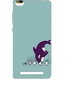 EPICCASE Penguins fun Mobile Back Case Cover For Xiaomi 3S Prime (Designer Case)