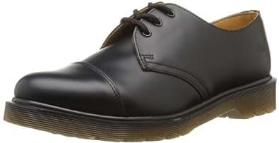 Dr Martens 1463 Pw Smooth, Chaussures de ville mixte adulte - Noir (Black), 40 EU (6.5 UK)