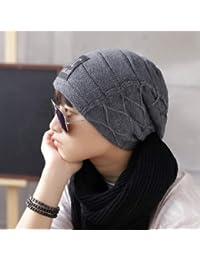 Sombrero Hombre otoño e invierno calidez marea femenina exterior pañuelo en  la cabeza gorras gorras gorras gorras e70854e6639
