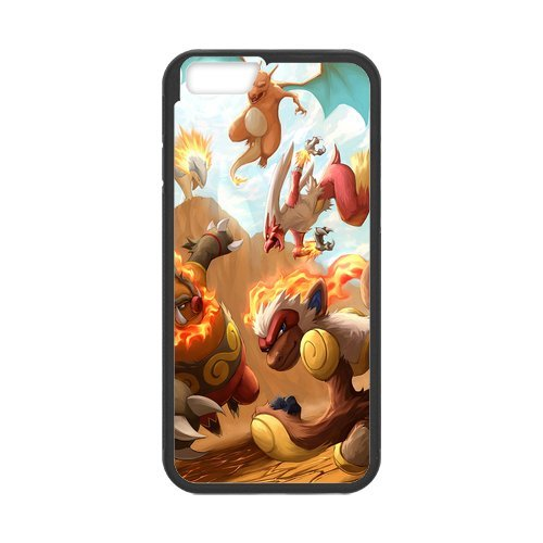 "Pokemon Pikachu en silicone TPU pour Apple iPhone 6S (4,7 ""inch), étui iphone 6S Hard Case Cover, iPhone 6 (4.7 inch) Case, beau design Coque de protection pour Apple iPhone 6/6S"