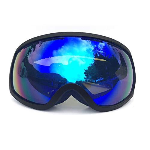 MaxAst Schießbrille Verstellbar Motorrad Brille Herren Schutzbrille Antibeschlag Blau