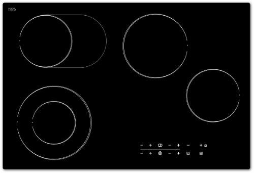 Bomann EBK 958 Kochfelder / Glaskeramik / Doppelkreis- und Bräterzone / 77 cm