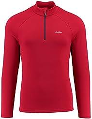 Odlo Herren Midlayer 1/2 Zip Snowbird Pullover & Sweatshirts