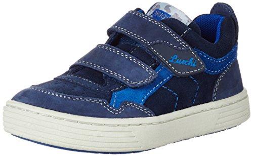 Lurchi Hanno, chaussons d'intérieur garçon Bleu Marine